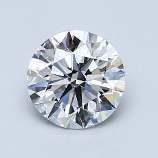 1.20 Carat 圓形 Diamond 理想 G VS1