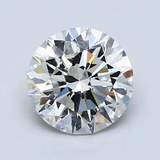 推薦鑽石 #1: 1.54  克拉圓形切割