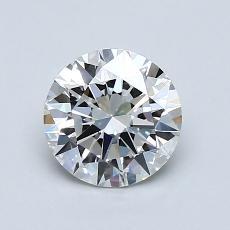 Piedra recomendada 2: Talla redonda de 1.00 quilates
