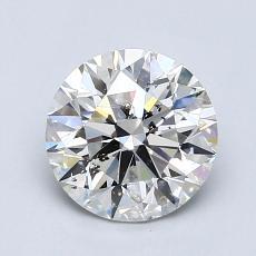 1.03 Carat 圓形 Diamond 理想 I SI2
