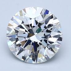 Recommended Stone #3: 2.52-Carat Round Cut Diamond