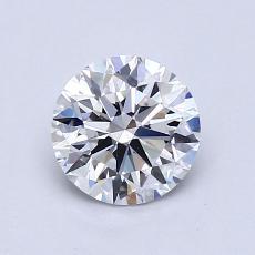 1.01-Carat Round Diamond Ideal D VVS1