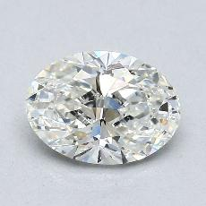 1.20-Carat Oval Diamond Very Good I VS1