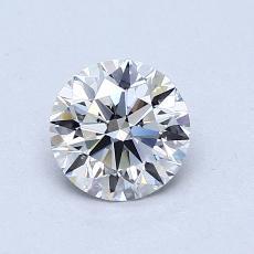 0.75 Carat 圓形 Diamond 理想 F VVS1