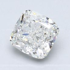 Pierre recommandée n°3: Diamant taille coussin 1,32 carats