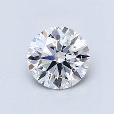 Pierre recommandée n°3: Diamant taille ronde 0,82 carat
