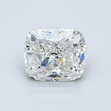 1.02-Carat Cushion Diamond Very Good H VS1