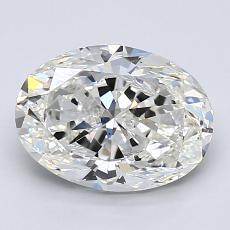 推薦鑽石 #4: 2.00  克拉橢圓形 Cut