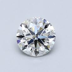 Recommended Stone #4: 0,81-Carat Round Cut