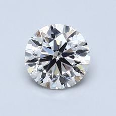 Recommended Stone #2: 0,90-Carat Round Cut