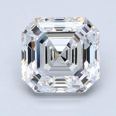 Recommended Stone #3: 2.02-Carat Asscher Cut Diamond