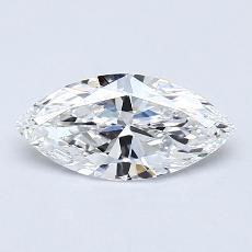 0,70-Carat Marquise Diamond Very Good D VVS1