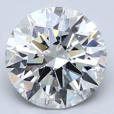 Recommended Stone #4: 3.21-Carat Round Cut Diamond
