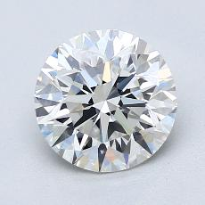 Recommended Stone #2: 1.68-Carat Round Cut