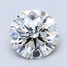 2.00 Carat 圆形 Diamond 理想 I VS1