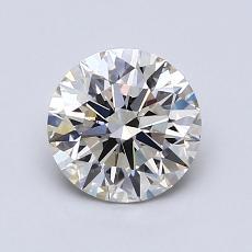 1.07-Carat Round Diamond Ideal I VVS2