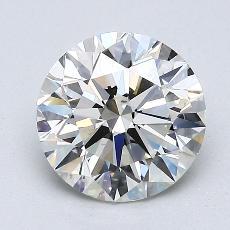 1.58 Carat 圓形 Diamond 理想 K VS2