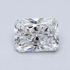 1.01-Carat Radiant Diamond Very Good E VS1