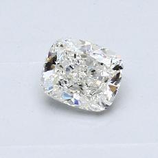 0.50-Carat Cushion Diamond Very Good I VVS2