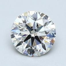 1.50-Carat Round Diamond Ideal I VS2
