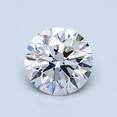 1.00 Carat Redondo Diamond Ideal E VS1