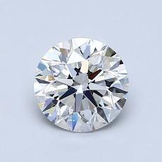 1.00 Carat 圓形 Diamond 理想 E VS1