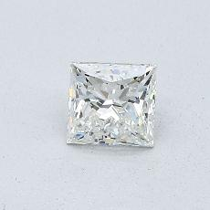0,46-Carat Princess Diamond Very Good H VS2