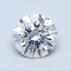 1.20 Carat 圓形 Diamond 理想 H SI1