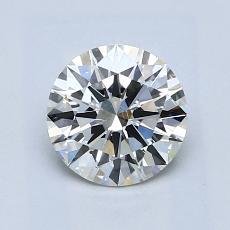 1.00 Carat 圆形 Diamond 理想 I VS2