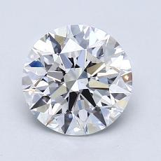 1.51 Carat 圆形 Diamond 理想 D VS1