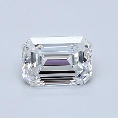 Recommended Stone #1: 0.92-Carat Emerald Cut Diamond