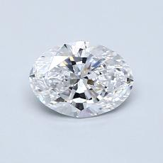 Recommended Stone #2: 0.71-Carat Oval Cut Diamond