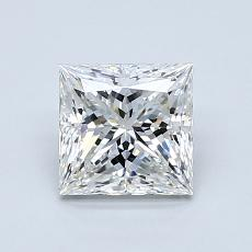 1.06-Carat Princess Diamond Very Good G VVS2