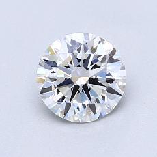 0.90 Carat 圆形 Diamond 理想 D VS1