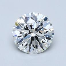 1.21-Carat Round Diamond Ideal E VS2