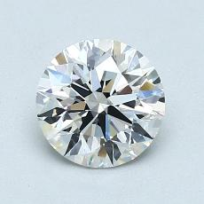 1,05 Carat Rond Diamond Idéale F IF