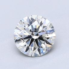 1.07-Carat Round Diamond Ideal H VS2