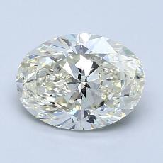 推荐宝石 3:1.51克拉椭圆形切割钻石