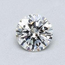 0.70 Carat 圓形 Diamond 理想 J SI1