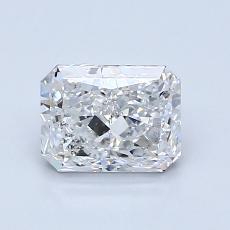 1.07 Carat 雷地恩明亮式 Diamond 非常好 F SI1