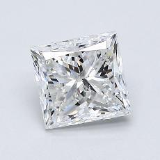 1.01-Carat Princess Diamond Very Good G SI2