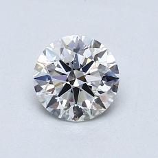 Recommended Stone #3: 0,80-Carat Round Cut Diamond