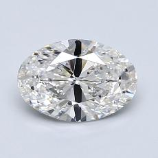 Recommended Stone #3: 1.06-Carat Oval Cut Diamond