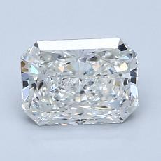 1,53 Carat Radiant Diamond Très bonne G SI1
