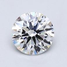 1.22-Carat Round Diamond Ideal G VVS2