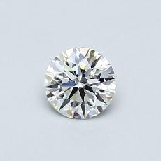 0.41-Carat Round Diamond Ideal E IF