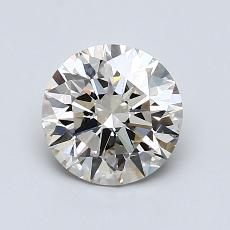 1,18-Carat Round Diamond Ideal K VS2