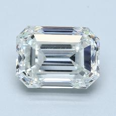 Recommended Stone #1: 3.01-Carat Emerald Cut Diamond