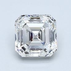 2,00-Carat Asscher Diamond Very Good G VVS1