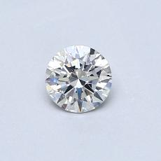 0,30-Carat Round Diamond Ideal G VS2